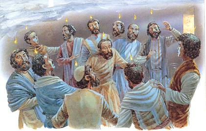 PENTECOST Tongues Of Fire Acts 21 NKJV 1 When The Day Pentecost Had Fully Come They Were All With One Accord In Place